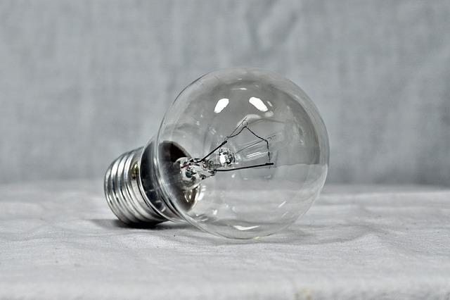 čirá žárovka