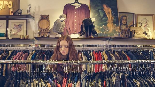 nákup oděvů