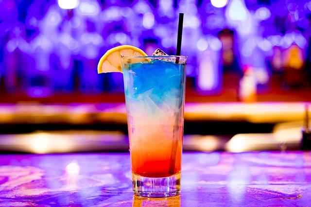 duhový nápoj